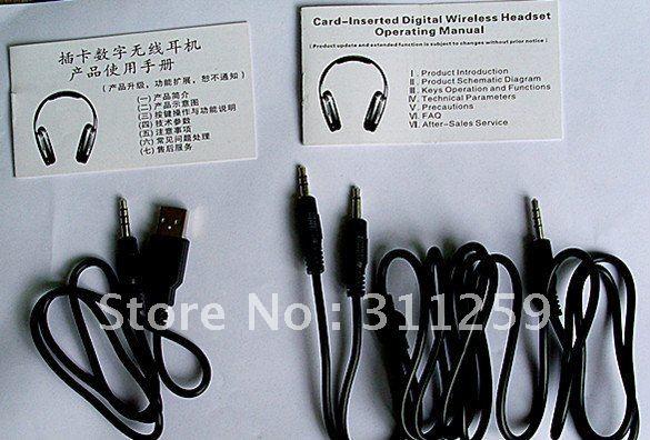 1 pc wireless headphone as sample for worldwide buyers(China (Mainland))
