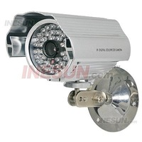 1/3 Chip CCD 600TVL 12mm Lens 48 IR LED Day&Night CCTV Weatherproof Video Camera