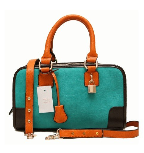BEST -SELLING !!!Bump color bag key single shoulder female handbag,free shipping(China (Mainland))
