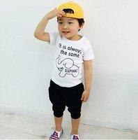 free shipping 5sets/lot 2012 baby boy's summer clothing set(t shirt+short pants).kids summer wear