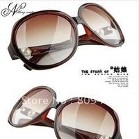 10Pcs/lot Wholesale Women Retro Sunglasses hot sale Polariscope Sunglasses Free shipping