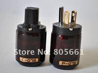 Hi-End  Audio P-079 & C-079 US power plug & power IEC socket