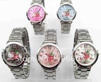 free shipping HOT selling 10pcs/lot  Hello kitty watch, wristwatch elegant women's watches,kids watches 11