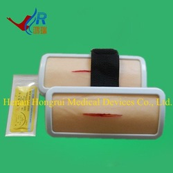Human Skin Suture Training Model (with Holder)/Suture Practice Pad /Wound Closure Pad(China (Mainland))