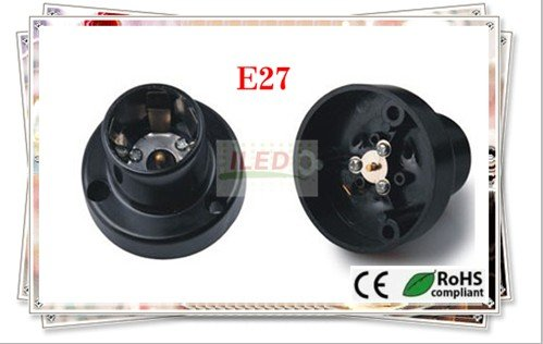 20pcs E27 Five claws burn-in test adapters E27 new lamp holder adapter CE & RoHS and UL(China (Mainland))
