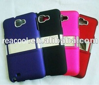 hard chrome case for Samsung Galaxy Note GT-N7000 i9220 stand cover body