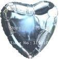 18 inch 45cm  foil Heart balloon metallic balloons aluminium balloon