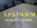 PVC transparent packing box/clear packing box 100pcs 4.5X3.7X2.3cm