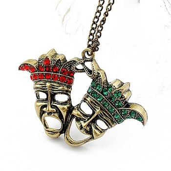 2014 New Arrival Korean Version Of The Retro Personalized Necklace   N394