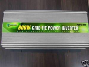 600w grid tie power inverter 50v-100v/ 230v, power jack