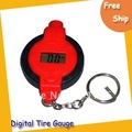 Free shipping Digital Tire Gauge 5pcs/lot-- Mini Digital Tyre,digital tire pressure gauge