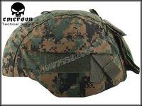 Airsoft Helmet Cover Fit MICH 2000 Ver 2 Woodland ACU helmet cloth