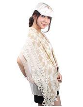 2012 New Fashion Bordered Scarves Scarf Shwal Wrap, 172cm*40cm ,5pcs free shipping(China (Mainland))