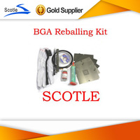 BGA Reballing Kit 6pcs 90*90mm PS3 BGA Stencils+Solder Flux+Other BGA Accessories