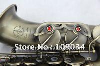 antique bronze alto saxophone