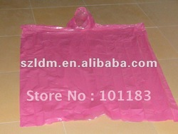 0.03mm plastic rain jacket/Raincoat/Rain wear/Rain Jacket(China (Mainland))
