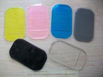 DHL Free Shipping 30pcs/Lot Brand Spider phone Powerful Silica Gel Magic Sticky Pad, Anti-Slip Non Slip Mat Car Multicolor