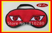 Free Shipping Japan Anime Naruto Cosplay CostumeSleeping MASK  Cover Eye mask eyeshade eye-shield blindfold Sleep travel blinder