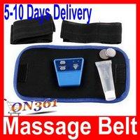 AB Gymnic Electronic Muscle Arm leg Waist Slimming Massage Belt Free Shipping