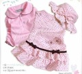 3Sets 2012 Spring New Arrival baby girls clothing sets girl dress+Tshirt+hat clothing set infant outfit baby suit free shipping