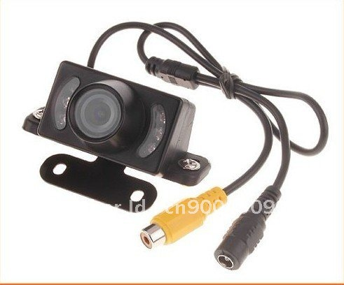 free Shipping Car Rear camera view reversing backup w/ Infrared IR,(China (Mainland))