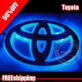 Free shipping Toyota Reiz  LED  lights Camry logo lights automotive logo lights LED decorative lamp car LOGO