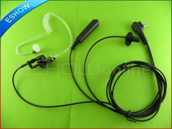 2 PIN Covert Acoustic Tube Earpiece for Motorola Radios Walkie talkie two way CB Ham Radio C055 Eshow