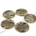 Wholesale- 50pcs Antique Bronze pendants ,necklace pendant Vintage Charms 140981-50
