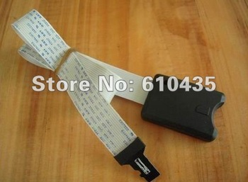 Free shipping micro sd card extension cable SD to TF cable for car GPS and DVD