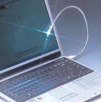 NEW ARRIVE  Flexible LED Bright White USB snake mini light notebook laptop PC Night Reading lamp ,mix order