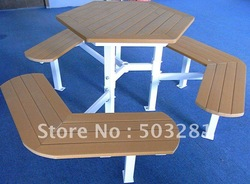 chairs and table ,public patio furniture,outdoor furniture,wooden furniture,ourdoor table and chairs,plastic table set,garden(China (Mainland))