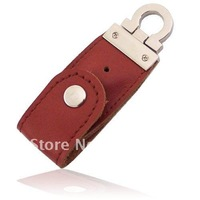Hot Leather 16GB USB Flash Drive Pen Drive Pendrive Flash Drive Card Memory Stick Drives MicroData
