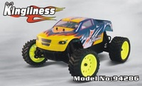 HSP nitro car2ch 2.4G  94286 RTR : 1/16th 4WD Nitro Off-Road Monster Truck _Kingliness