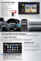 Intelligent Navigation System for Kia Sedona navigation system support  Bluetooth iPod,DVD player