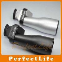 KENKO 15x32 Pocket Size Mini Diaphanous Monocular Telescope Color Silver Black 2pcs/lot Free Shipping