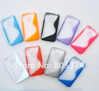 Free Shipping ,TPU+PC Case Cover for iPhone 4s 4G case