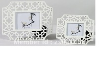 DS1003WT-L  New white painting frame wedding gift home decoration craft souvenir