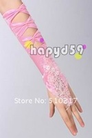 45pair free ship hook finger lace gloves fingerless banquet fashion design bridesmaid bride gloves wedding