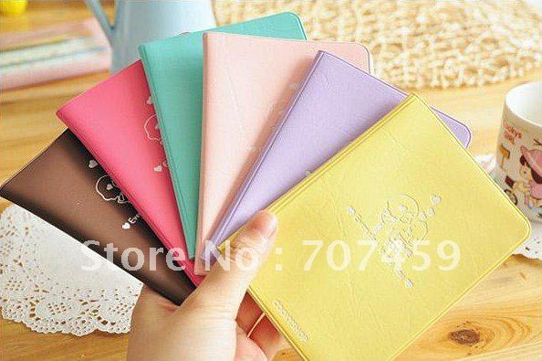 Free shipping Wholesale New cute niuniu girl style Passport Holder / card case & bag / Hot gift(China (Mainland))