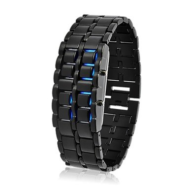 Japanese-inspired-Blue-LED-digital-watch