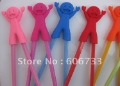 Wholesale 750pcs/lot happy Man Chopstick Functional Aid Use with Chopsticks