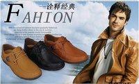 Мужская обувь на плоской платформе drive shoes, fashion suede leather shoe, men's casual shoe, by china post air mail, NVT25
