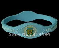 2012 football club football team bracelet Argentina team bracelet silicone bracelet environmental hot football bracelet