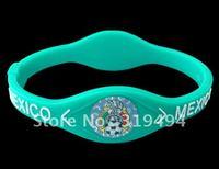 2012 football club football team bracelet Mexico team bracelet silicone bracelet environmental hot football bracelet
