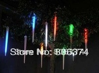 2M 8 X Column (10 Led each Column 10CM longth ) String LED Meteor Rain Light multicolor