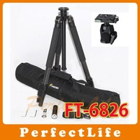 Pro FANCIER FT-6826 Carbon Fiber Tripod with 6826H Ball head bag A011AE007