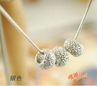 X14 free shipping12 pieces/lot wholesale sweet necklace fashion necklace silver pendent necklace classic necklace jewelry