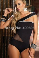 Женское эротическое боди Hot Sexy Gilt Cloth Mesh Lingerie Lady Spice Teddies Underwear #1223