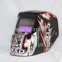 Solar+AAA battery dual power auto darkening welding helmet/mak/eyeshade for the MIG MAG TIG MMA welding machine