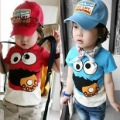 Free shipping Korea Style Lovely  Kids Cotton Tshirt Children Clothes(TT003)